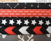 CIJ Sale Rag Quilt Kit,  Red, Black Grey, Personalized, Fun Fast and Easy, Bin A, Sewing Available