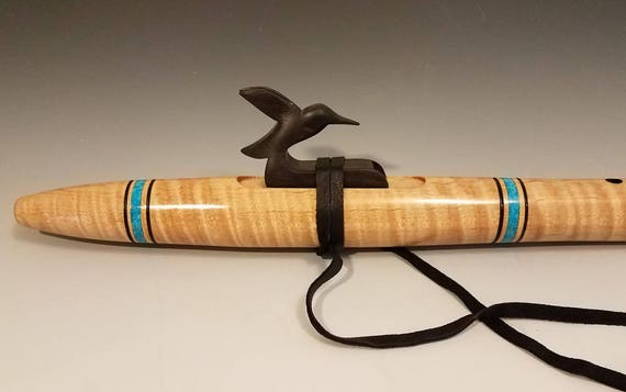 Native American style flute, Curly Maple