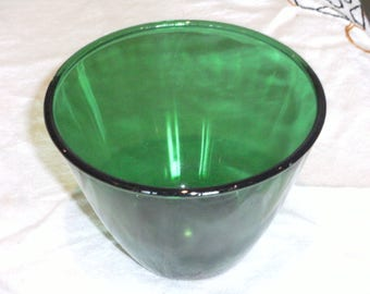 Vintage Emerald Green Bowl