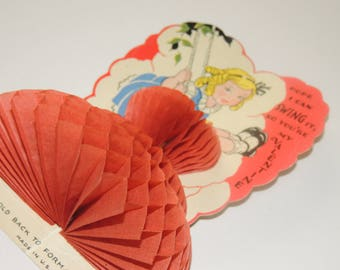 1920s Honey Comb Valentine