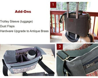 ADD-ONS: Dust flaps, Luggage Sleeve, Hardware Upgrade