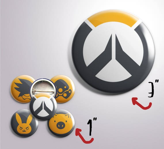 Overwatch Inspired Buttons