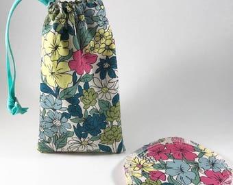 Menstrual Cup Bag, Menstrual Cup Pouch, Menstrual Cup Holder Desert Bloom