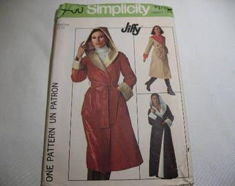Vintage 1970's Simplicity Pattern 7700, Reversible Coat