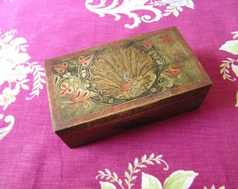 Antique India Brass Box - Father's Day Gift!