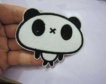 Cute Panda Patch Animal Cartoon patches Badge patch Applique embroidered patch Iron On Patch Sew On Patch