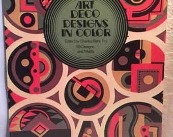 Art Deco Designs in Color 1975
