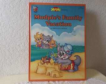 Mudpie's Family Vacation-Children's Book, Guy Gilchrist, Glossy Hardcover, Near New Condition, 1988