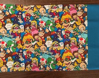 Nintendo NES classic travel pillow case/toddler pillow case 100% cotton
