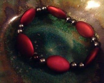 Ruby Hemalyke Stretch Bracelet