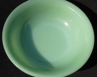 Fire King Jadeite JANE RAY Cereal Bowl 6 1/4 Inches