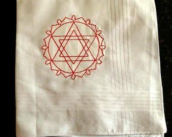 Heart Chakra Handkerchief