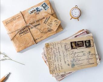 Message Greeting Card -  Cardstock Scrapbook Embellishment Card