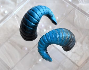 BJD Horns BLUE BLACK - Size L