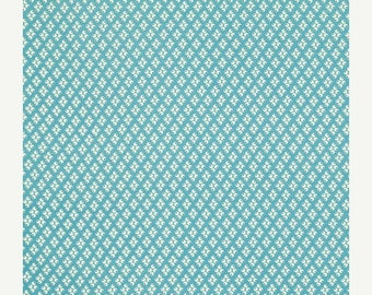 SALE 30% Off - FLORENCE Four Dots in Malachie PWDS050 - Denyse Schmidt - Free Spirit Fabric - By the Yard