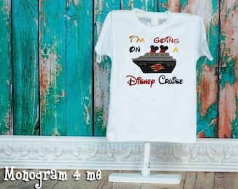 Disney Cruise,  I'm going on a Cruise Shirt,  Ship, Mickey Mouse Shirt
