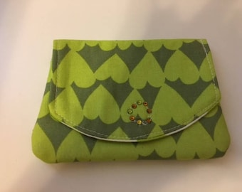 Little Wallet credit and handmade business card holder - C