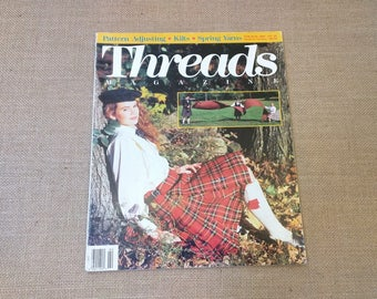 Threads Magazine February March 1991 Back Issue Number 33