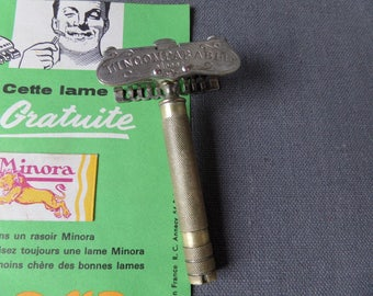"A Flea Market Find Antique French  Safety Razor ""L'INDOMPTABLE"""
