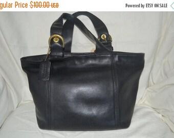 June Savings Coach~Coach Tote~Black Coach Bag ~Fits Ipad Perfectly