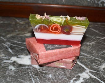 Soap~Organic Soap~All Natural Soap~ Blood Orange ~Handcrafted Soap~ Aromatherapy