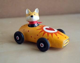 fox minicar - miniature toy car