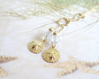 Gold Threaders-Sand Dollars-Gold Filled