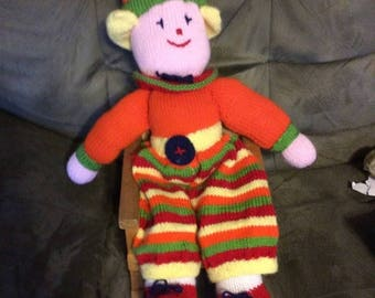 XMASinJULY Yarn doll multiple colors charming doll 30 inches