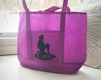 Little Mermaid Personalized Tote Bag