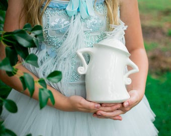 Alice in Wonderland Inspired | Kitchen-Canisters | Vase | Kitchen Canister | handmade from my Charleston, SC Studio