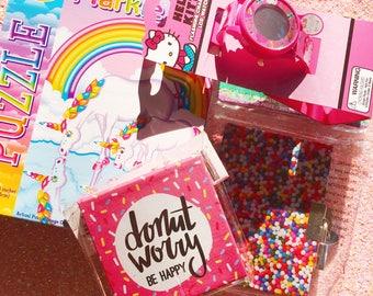 Cute/Girly Grab Bag, Cute Blind Bag, Various Girly Items, Fun Surprise, Suprise Items, Grab Bag, Kawaii Grab Bag, Mystery Bag