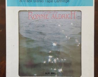 Ronnie Aldrich One Fine Day AJK 8902 New Sealed Vintage 8-Track Tape