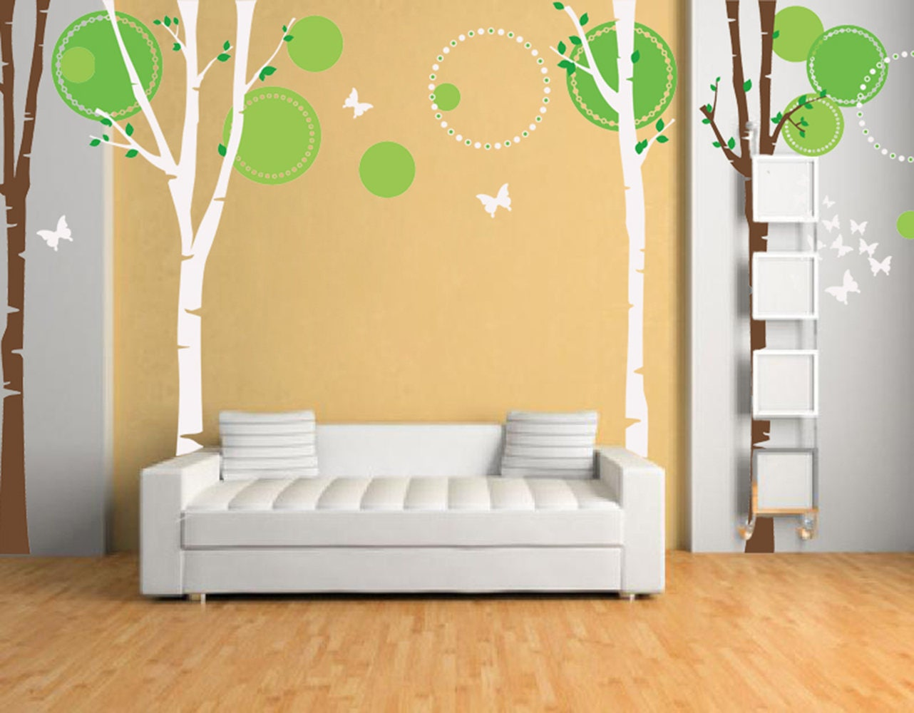 On Sale Trees Wall Decal Nursery Wall Decors Baby Decals- Nice four ...