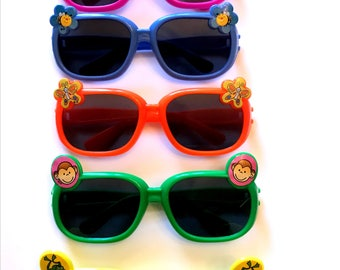 Kids Sunglasses, In Several colors, 3 Years and Old, Party Glasses, Novelty, Kids Play, 4 x 1.5 in, Cosmetic, Accessories, Gifts for kids