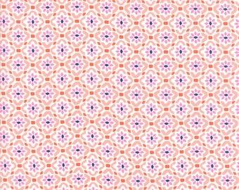 Kate Spain Voyage Fabric by the Yard, Porto in Mandarin Orange, Moda Fabrics, 27287-12