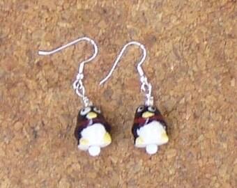 Happy Penguin earrings