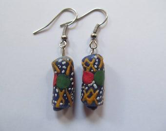 Colorful African Earrings