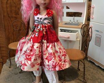 """Ooooooo....18"""" MSD doll clothes, 3 pc"""