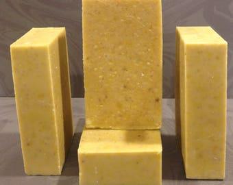 Castile Soap with calendula and colloidal oatmeal/ Vegan Soap