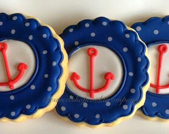 Anchor cookies 2 dozen