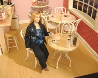Miniature OOAK dollhouse doll