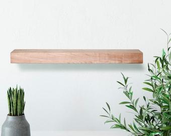 Maple Floating Shelf