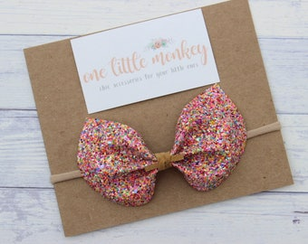 Pop Rocks Glitter {ELIZA} Bow - Autumn 2017