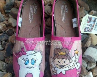 Price includes shoes. Pink dentistry TOMS
