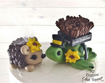 turtle wedding cake topper turtles wedding cake topper for 1 pairk616 21319