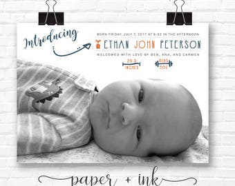 Introducing Birth Announcement