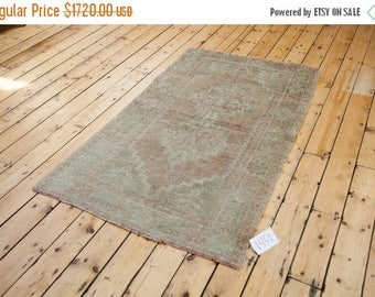 10% OFF RUGS 3.5x6 Distressed Oushak Rug