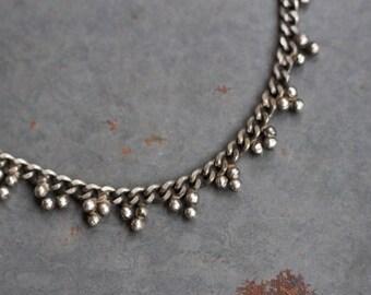 Boho Anklet Ankle Bracelet - Silver Toned - Urban Gypsy Fashion