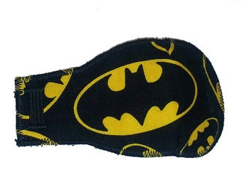 New Batman Eye-Lids - Patch of the week sale! kids eye patches - soft, washable eye patches for children and adults