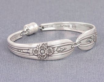 Silverware Bracelet - Spoon Jewelry - Triumph 1941 Spoon Bracelet